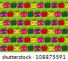 Seamless gift pattern, ideal for gift card, wrapping paper and wall paper - stock vector
