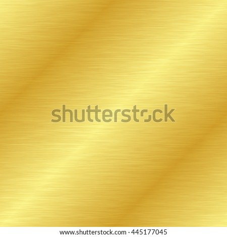 Seamless gold metal texture. Vector illustration - stock vector
