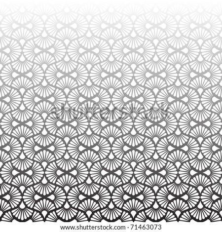 Seamless gray vector - stock vector