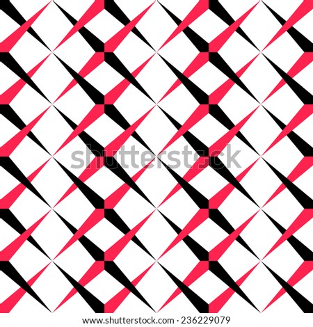 Seamless Grid Background. Vector Geometric Texture - stock vector