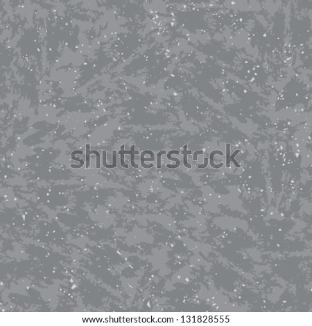 Seamless grunge grey wall background. Vector illustration. - stock vector