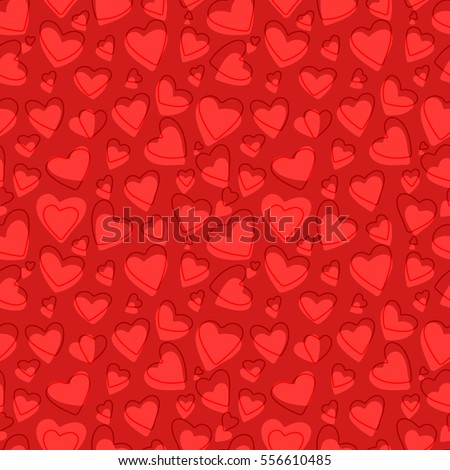 full page heart template - full doodles page stock images royalty free images