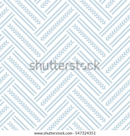 Seamless herringbone pattern. Vector art.