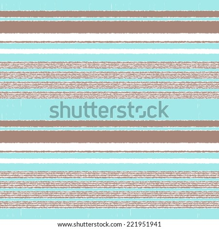 seamless horizontal stripes pattern - stock vector