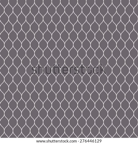 Seamless inverse black and white woven pattern vector - stock vector