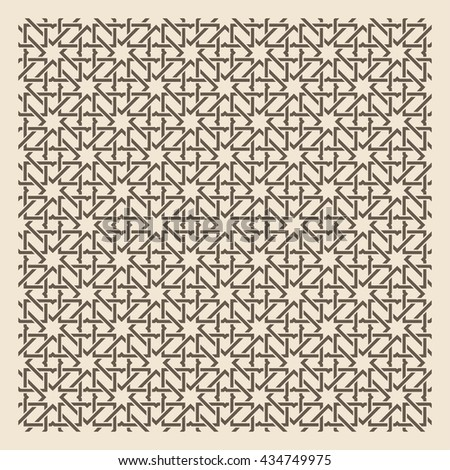 Seamless Islamic background. Vector illustration - stock vector