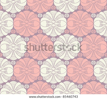 Seamless Japanese pattern - stock vector
