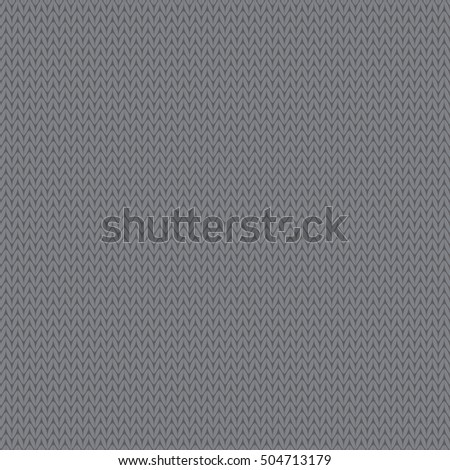 Seamless knitted background vector. Print. Cloth design, wallpaper.