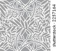 Seamless Leafy Pattern - Vector - stock vector