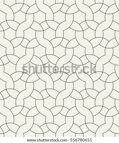 Abstract curved delicate geometric seamless pattern stock for Delicate in texture crossword clue