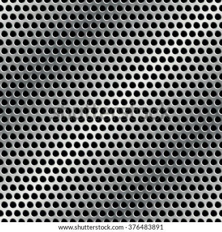 Seamless metal grid pattern. Vector illustration EPS 10. 