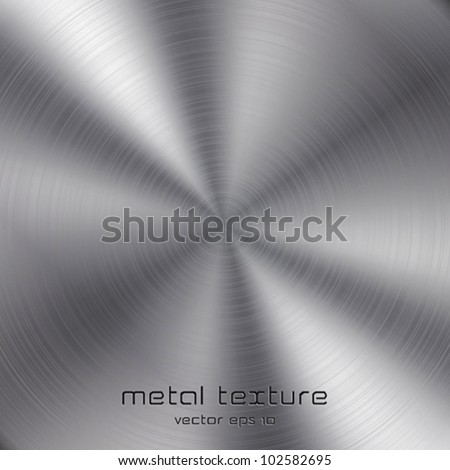 Seamless metal texture background. Vector - stock vector
