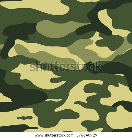 Seamless Military background texture of hacks - stock vector