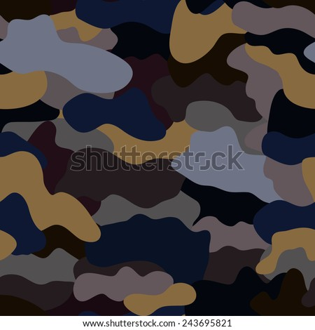 Seamless military camouflage texture. Military background. military texture for textile.