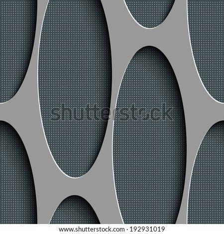 Seamless Minimalistic Pattern - stock vector