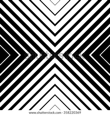 Seamless monochrome pattern with square shape. Abstract grid, mesh texture. Vector. - stock vector