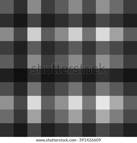 Seamless monochrome pattern with squares. Seamless texture with shades of grey. Universal stylish background.