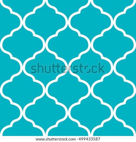 Seamless Moroccan Trellis Pattern