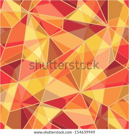 Seamless mosaic pattern. EPS-10 - stock vector