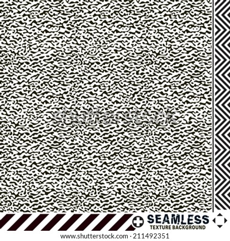 Seamless noise textured pattern background. Vector.  - stock vector