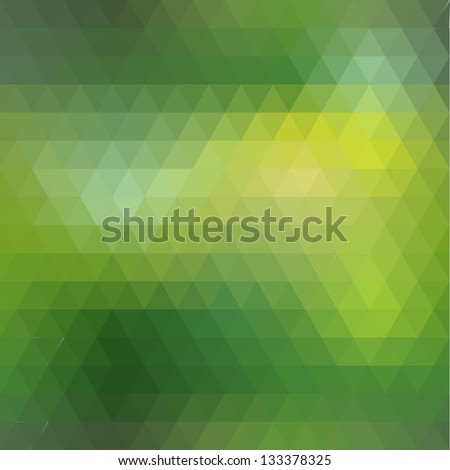 Seamless of geometric shapes. Pattern with spectrum effect - stock vector