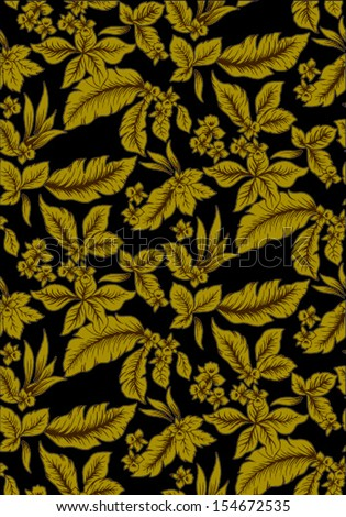 seamless of pattern vector. - stock vector