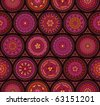 Seamless old-fashioned pattern - stock vector