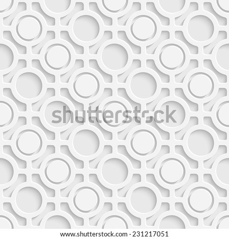 Seamless Oriental Background - stock vector