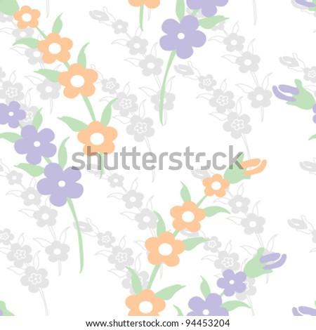 Seamless original pattern - stock vector