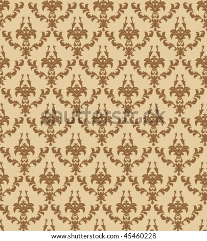 Seamless ornament background - stock vector