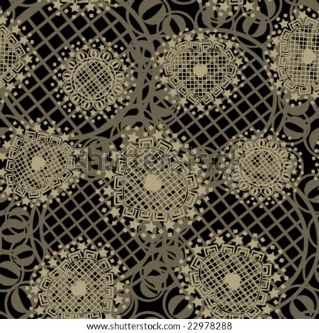 seamless ornament fabric