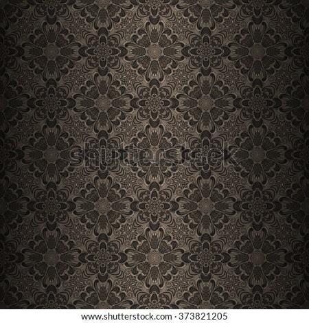 seamless ornamental pattern - stock vector