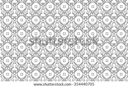 Seamless pattern - stock vector