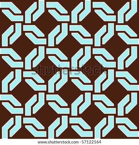 Seamless pattern. - stock vector