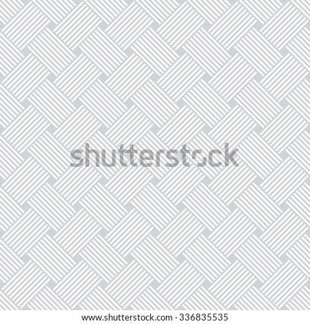 Seamless pattern. Abstract background. Simple elegant texture with thin lines. Regularly repeating geometrical ornament with intersecting lines and rhombuses. Vector element of graphical design - stock vector