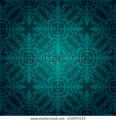 Seamless pattern. Abstract pattern.  Seamless  hand-drawn pattern  can be used for textile ornament,  pattern fills, surface textures.  Gorgeous seamless floral background