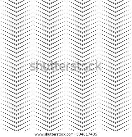 Seamless pattern. Abstract small dotted background. Modern original texture with regularly repeating geometrical elements, shapes, small dots, dotted lines, zigzags. Vector element of graphic design - stock vector