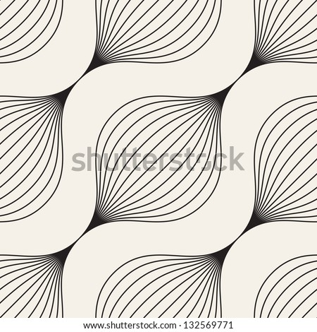 Seamless pattern. Abstract texture. Braids with diagonal direction - stock vector