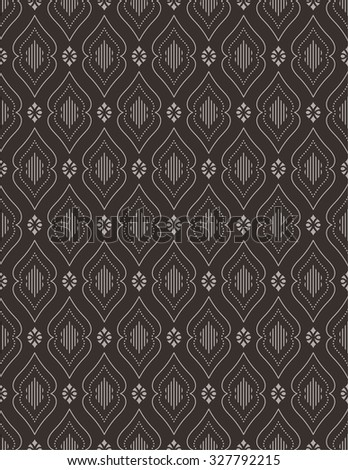 Seamless pattern. Abstract textured background. Modern stylish texture. Endlessly repeating elegant ornament with ornamental shapes. Vector element of graphic design