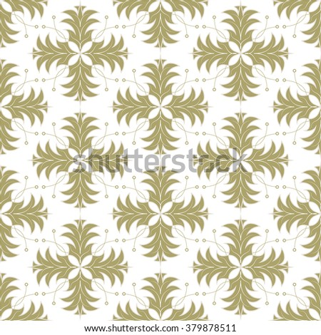 Seamless  pattern. Abstract vector texture. Decorative floral pattern in baroque style. Can be used for wallpaper, textiles, design, wrapping paper, web page, background. - stock vector