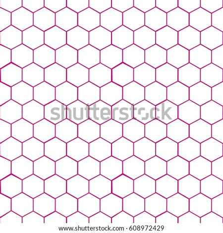 Seamless Pattern Background Octagon Shapes Stock Vector