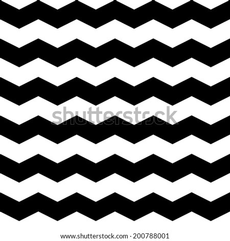 Seamless pattern, black and white texture, vector background - stock vector