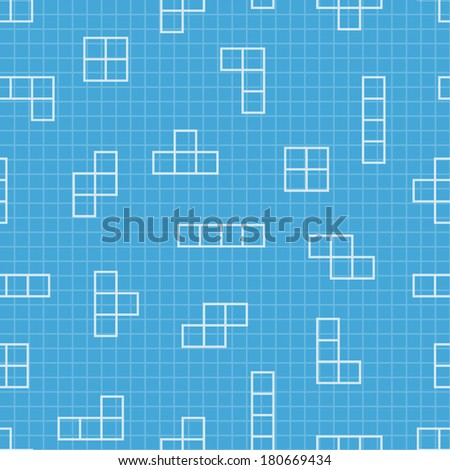 Seamless pattern blueprint design vector elements stock vector blueprint design vector elements game background minimal illustration use malvernweather Gallery