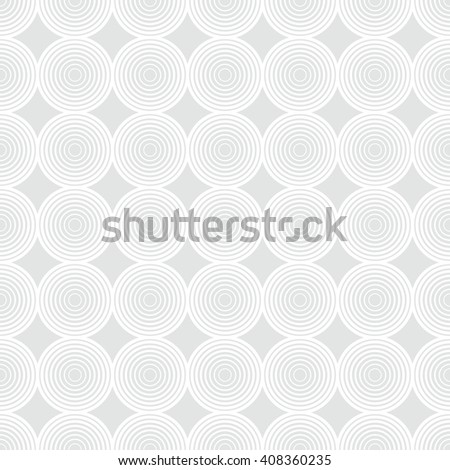 Seamless pattern. Classical simple texture. Repeating geometric shapes, circles, rhombuses. Vector element of graphic design - stock vector