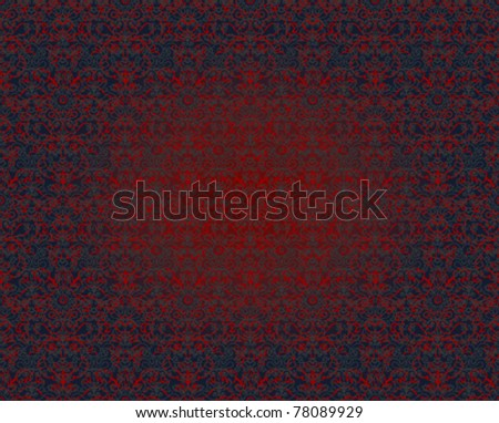 Seamless pattern. Each color on separate layer. - stock vector