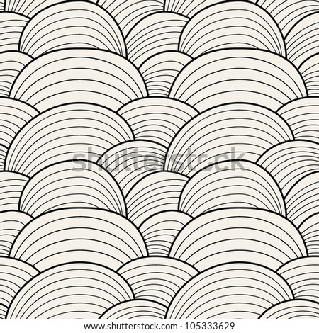 seamless pattern. endless stylish texture - stock vector