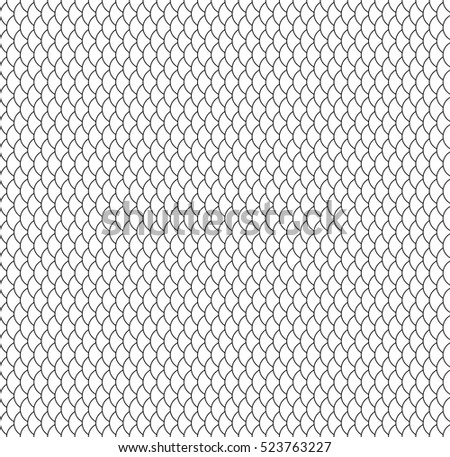 seamless pattern fish scale stock vector 523763227 shutterstock