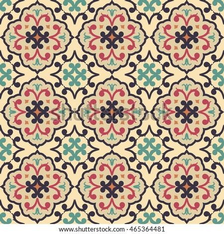 Seamless pattern from RETRO. Can be used for wallpaper, surface textures, textile, cover etc.