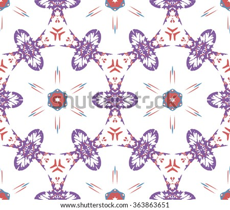 Seamless pattern. Geometric background. Seamless pattern for decoration. Print for paper wallpaper, tiles, textiles. Vector illustration. - stock vector