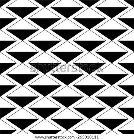Seamless pattern. Geometric stylish background.  - stock vector